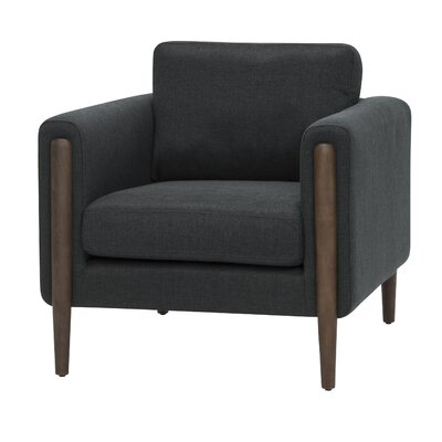 Dobson Arm Chair Upholstery: Steel Gray