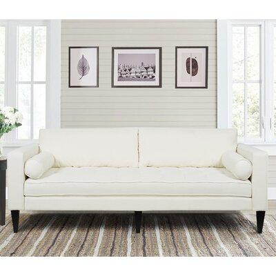 Peoria Sofa Upholstery: Star White