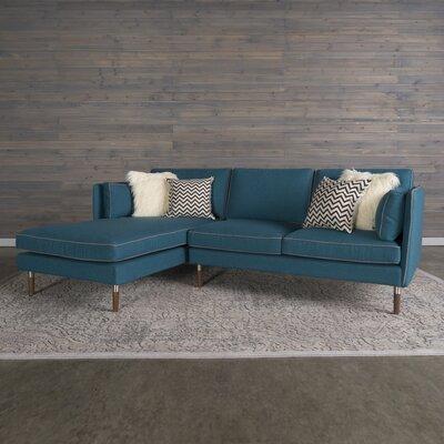 Shelburne Modular Sectional Upholstery: Teal Blue