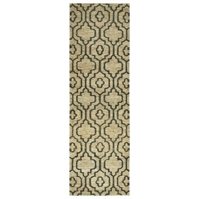 Federica Hand-Woven Natural Area Rug Size: Runner 26 x 8
