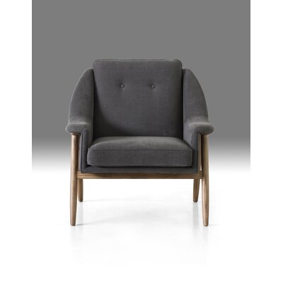 Riverside Armchair Upholstery: Dark Gray