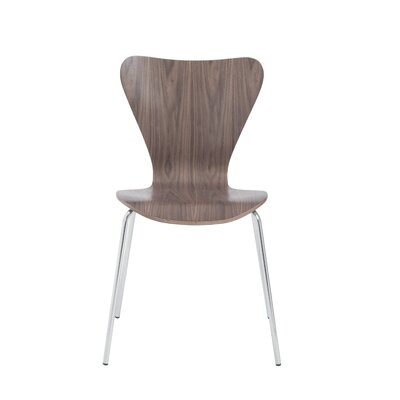 Dugas Side Chair Finish: Walnut