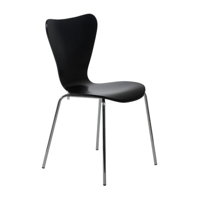 Dugas Side Chair Finish: Black