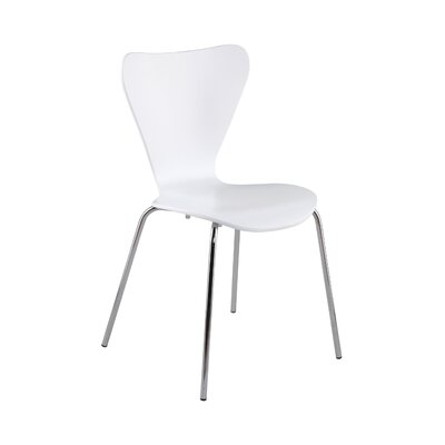 Dugas Side Chair Finish: White