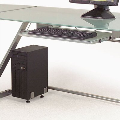 David Z-shaped Deluxe Keyboard Tray and CPU Holder