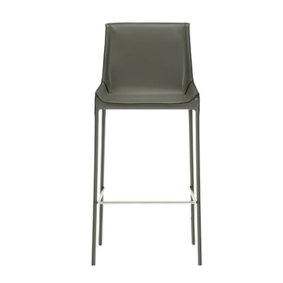 Walter 30 Bar Stool (Set of 2) Color: Cappuccino