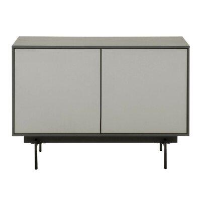 Tasha 31.5 TV Stand Color: Matte Gray/Matte Light Gray