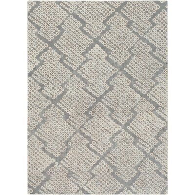 Villa Court Hand-Loomed Brown/Gray Area Rug Rug Size: Rectangle 8 x 11
