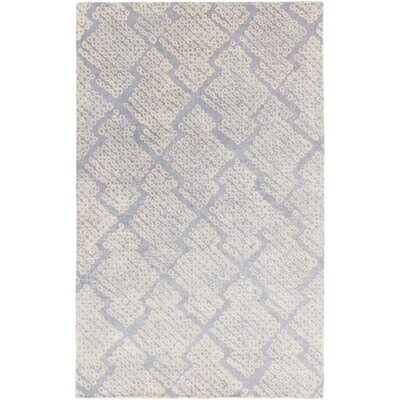 Villa Court Hand-Loomed Blue Area Rug Rug Size: Rectangle 2 x 3