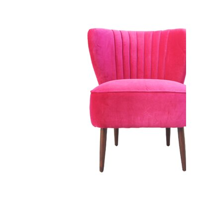 Ella Slipper Chair Color: Pink