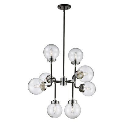 Avent 8-Light Cascade Pendant