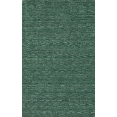 Toby Emerald Area Rug Rug Size: 5 x 76