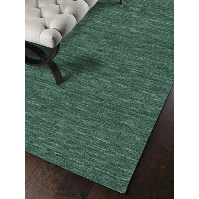 Toby Emerald Area Rug Rug Size: Rectangle 36 x 56