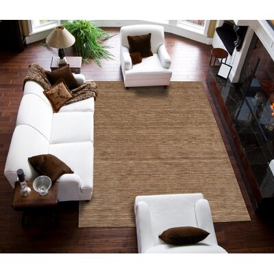 Toby Taupe Area Rug Rug Size: 8 x 10
