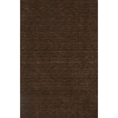 Toby Chocolate Area Rug Rug Size: 5 x 76