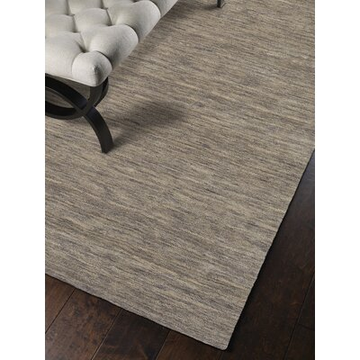 Toby Hand Woven Wool Granite Area Rug Rug Size: Rectangle 36 x 56