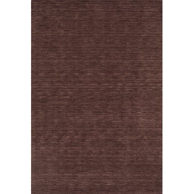 Toby Plum Area Rug Rug Size: 8 x 10