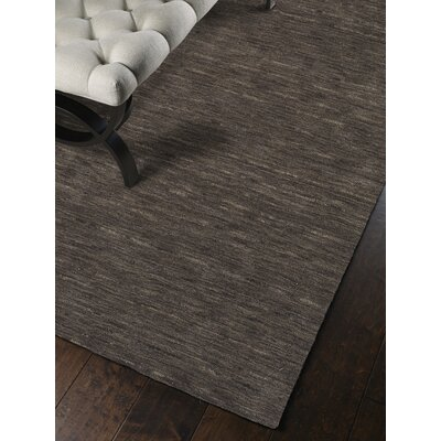Toby Charcoal Area Rug Rug Size: Rectangle 3'6