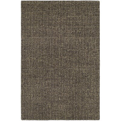 Carlane Hand-Woven Brown Area Rug Rug Size: 9'6