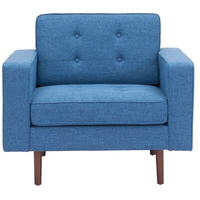 Wichita Armchair Color: Blue