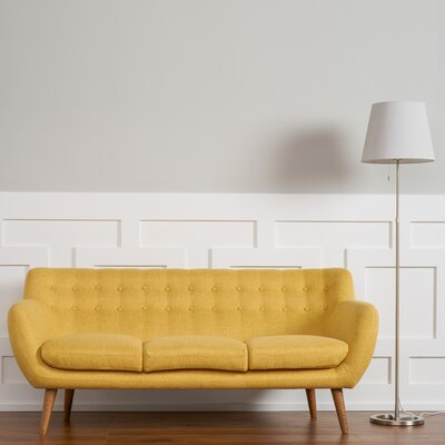 Martinique Tufted Sofa Upholstery: Sunset