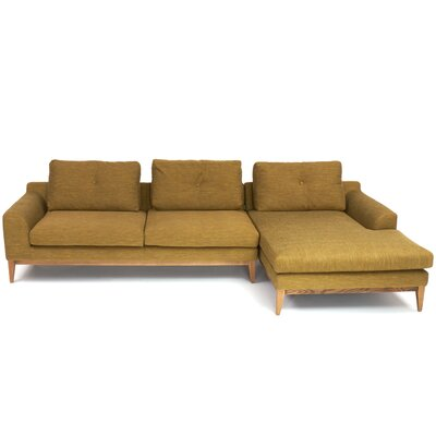 May Sectional Upholstery: Olive