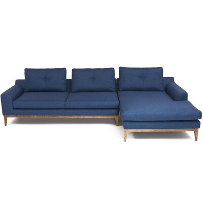 May Sectional Upholstery: Royal Blue