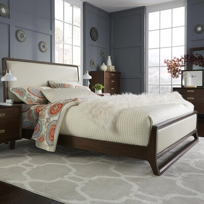 Arlo Upholstered Platform Bed Size: King
