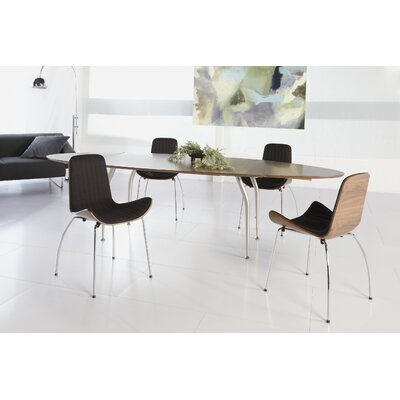 Uma Side Chair Upholstery: Dark Gray