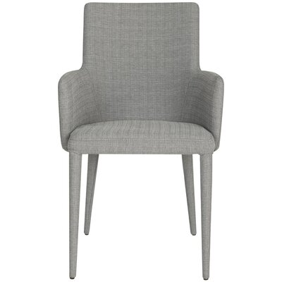 Lebron Arm Chair Upholstery: Dark Gray