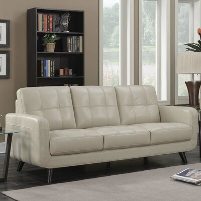 Mason Sofa Color: Cream