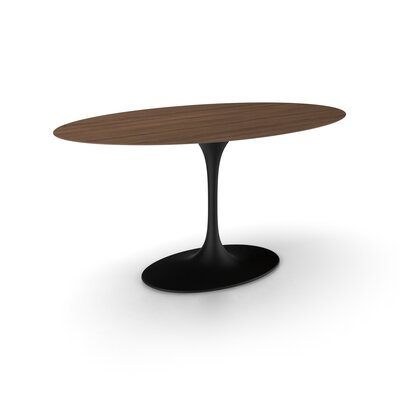 Angelica Dining Table Base Finish: Black Matte