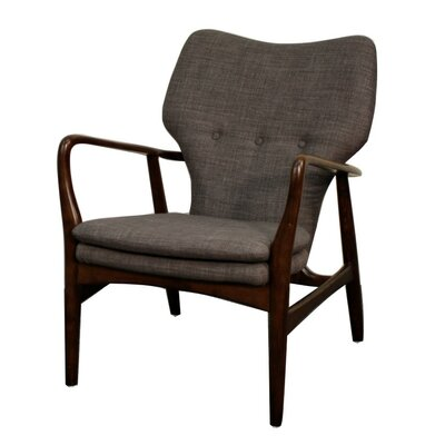 Rosanna Fabric Armchair Color: Rock