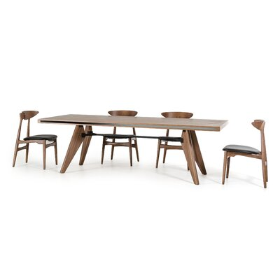 Akan Bend Kennedy and Anson 5 Piece Dining Set
