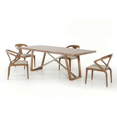 Akan 5 Piece Dining Set