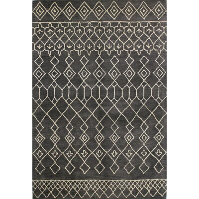 Laflin Charcoal Rug Rug Size: 86 x 116