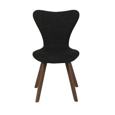 Anna Side Chair Finish: Dark Gray