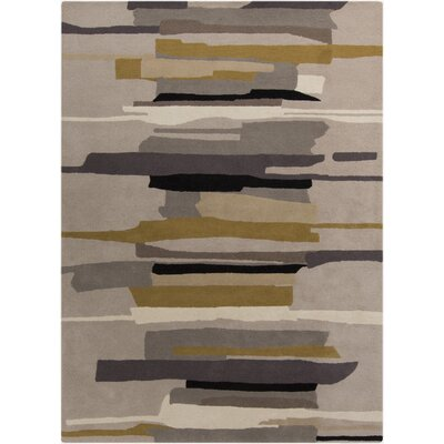 Lena Gray Rug Rug Size: Rectangle 9 x 12