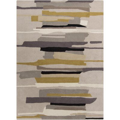 Lena Hand-Tufted Gray/Neutral Area Rug