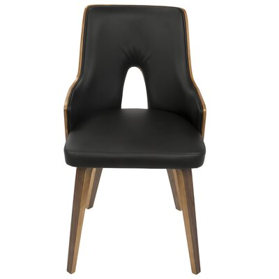 Tompson Upholstered Dining Chair in Black