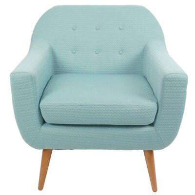 Hyannis Arrow Fabric Arm Chair