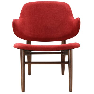 Kingsford Wingback Chair Upholstery: Red