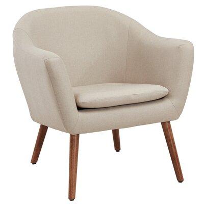 Agaton Club Chair Upholstery : Beige