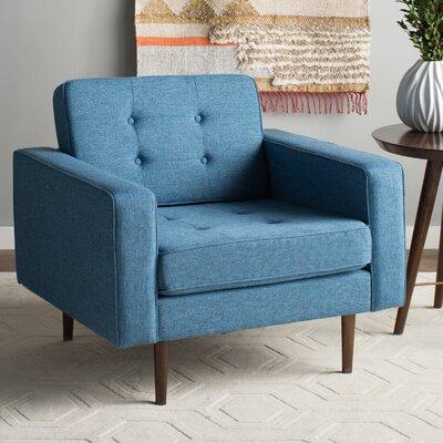 Wichita Arm Chair Color: Blue