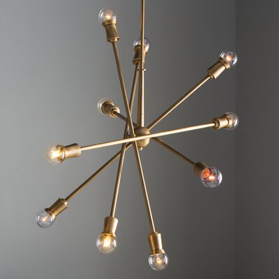Modena 10-Light Sputnik Chandelier