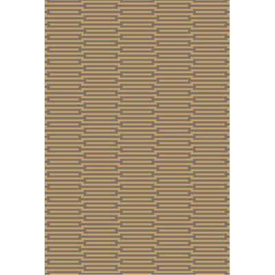 Olinda Wenge/Golden Brown Rug Rug Size: Rectangle 2 x 3