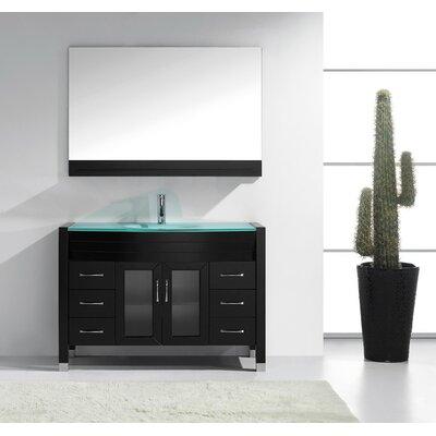 Cartagena 48 Single Bathroom Vanity Set with Mirror