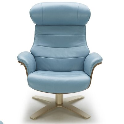 Dakota Lounge Chair Upholstery Color: Blue