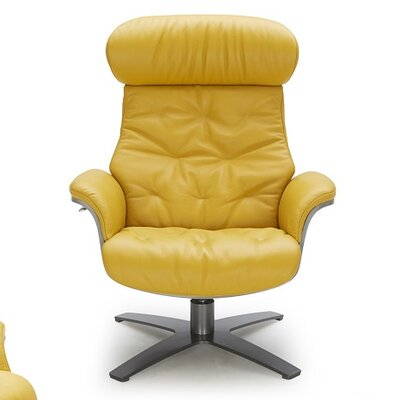 Dakota Lounge Chair Upholstery: Mustard