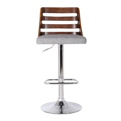 Lavallette Adjustable Height Swivel Bar Stool